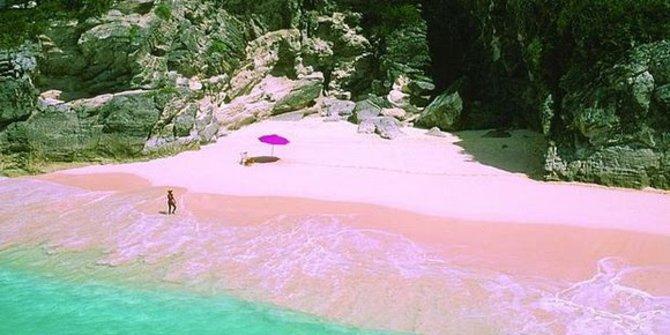 pantai-merah-muda-harbour-island-bahama