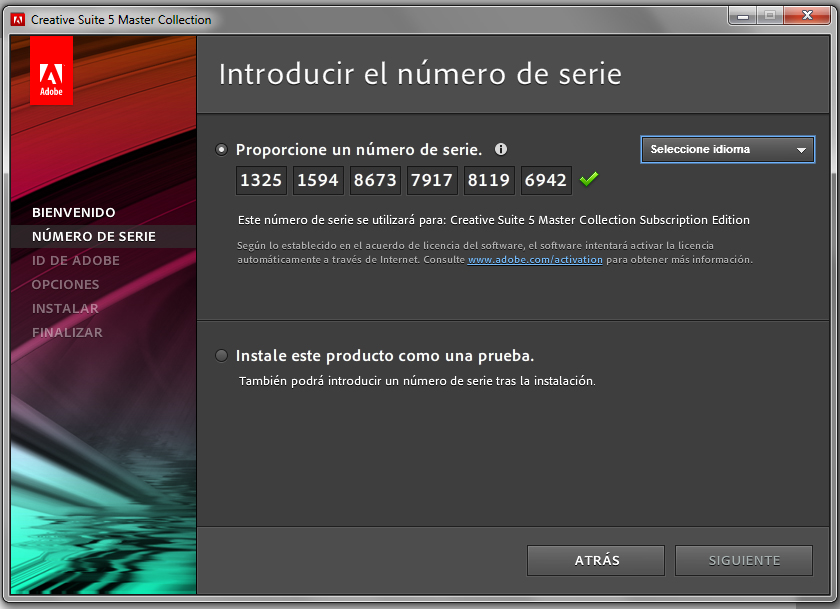 Adobe cs5 master collection crack pc